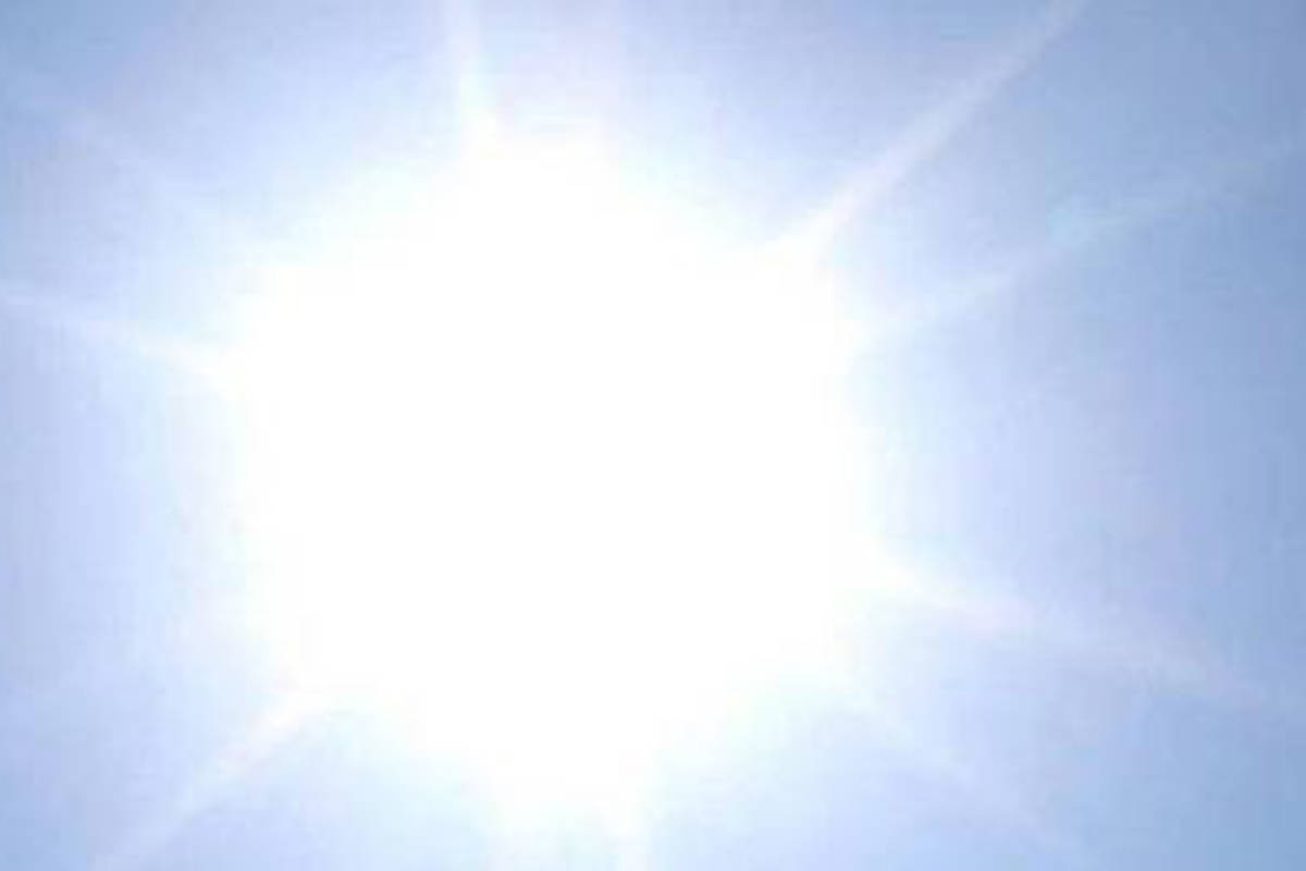Another heat wave in the Lower Mainland is expected this weekend. (File photo)