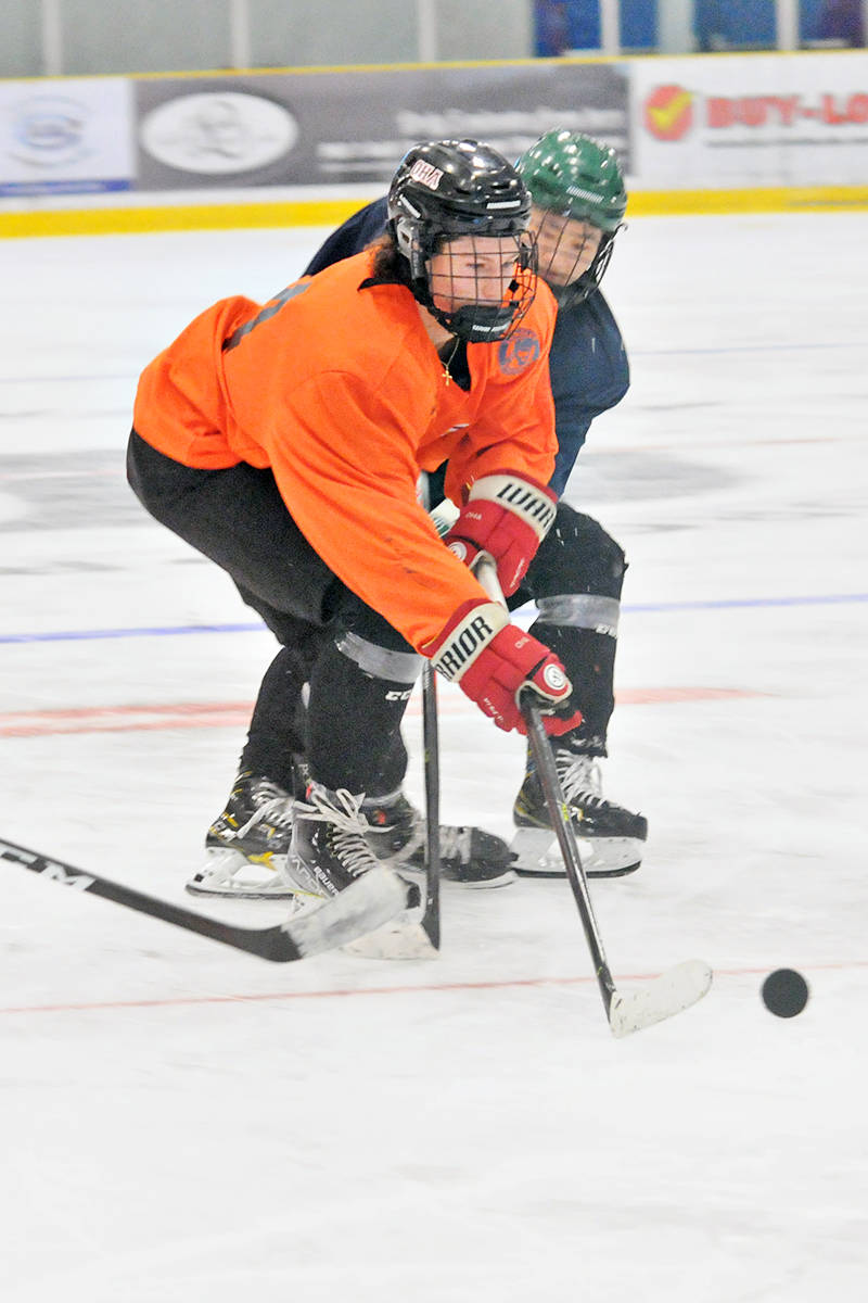 """Langley Rivermen hosted a summer ID (talent identification) camp at the """"Lodge"""" on Saturday, Aug. 14 and Sunday, Aug 15. (Dan Ferguson/Langley Advance Times)"""