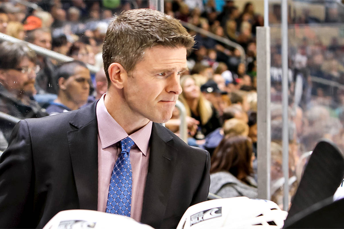 Keith McCambridge will return to the Vancouver Giants coaching staff in 2021-2022 where he will once again serve as Associate Coach, the Langley-based team announced Monday, Aug. 16. (McCambridge Family/special to Langley Advance Times)