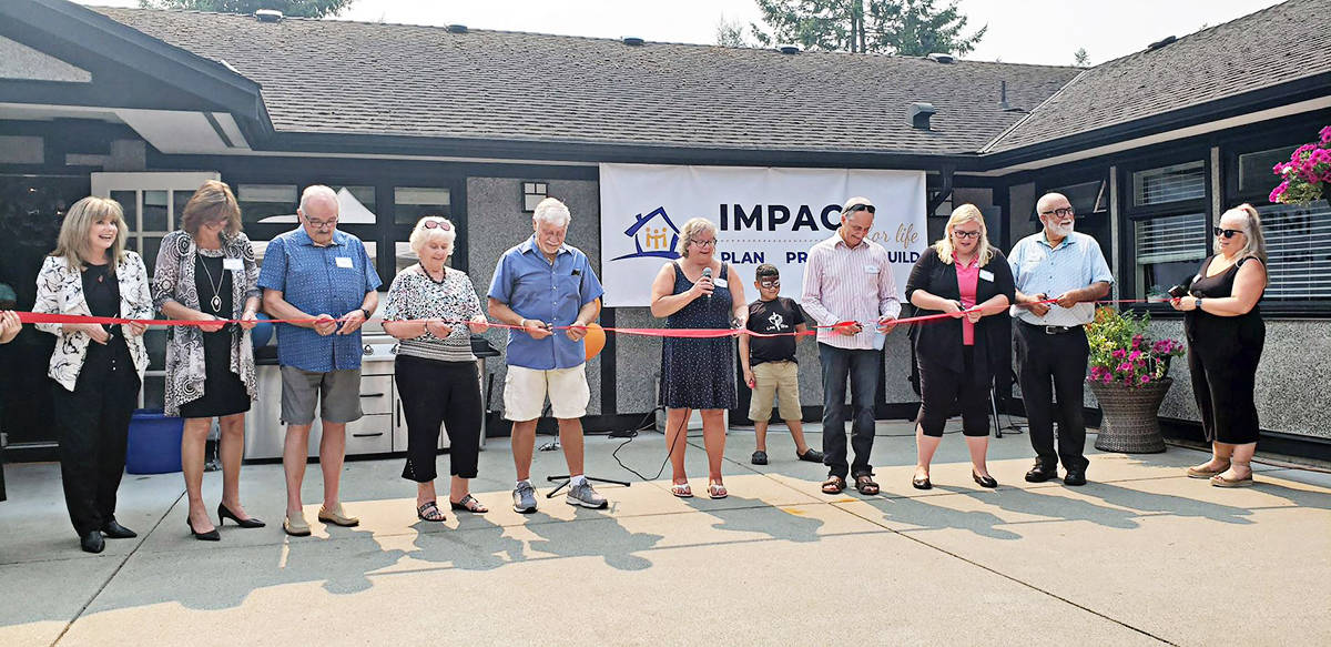Patricia Hope House was officially opened on Saturday, Aug. 14, 2021. (Patricia Hope House photo)