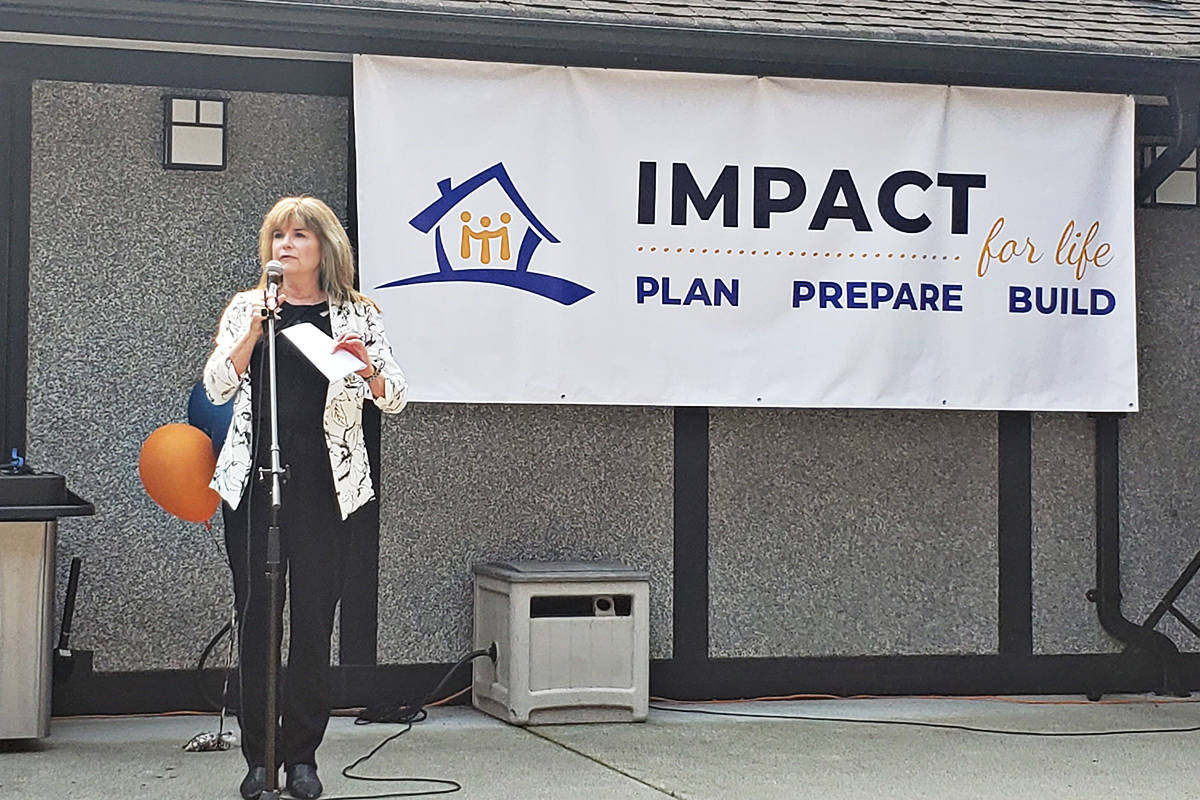 Surrey Councillor Laurie attended the grand opening. (Patricia Hope House photo)