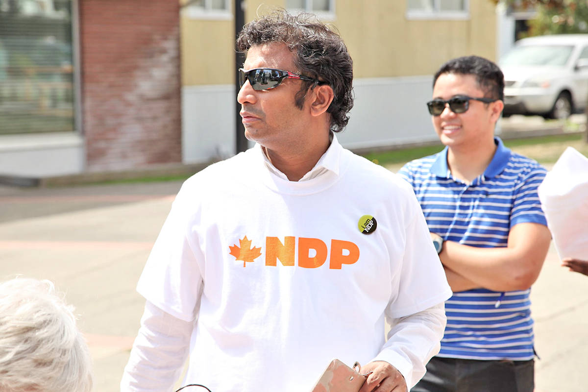 Rajesh Jayaprakash has announced he will be running for the NDP in the Cloverdale – Langley City federal riding. (Facebook image)