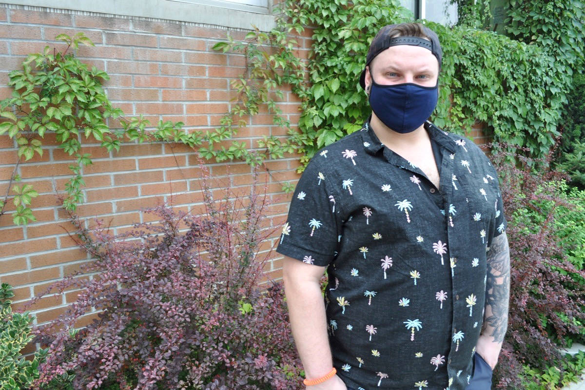 Pauly Frost is one of 187 people in the Nelson local health area to be infected by COVID-19 since July 1. Photo: Tyler Harper