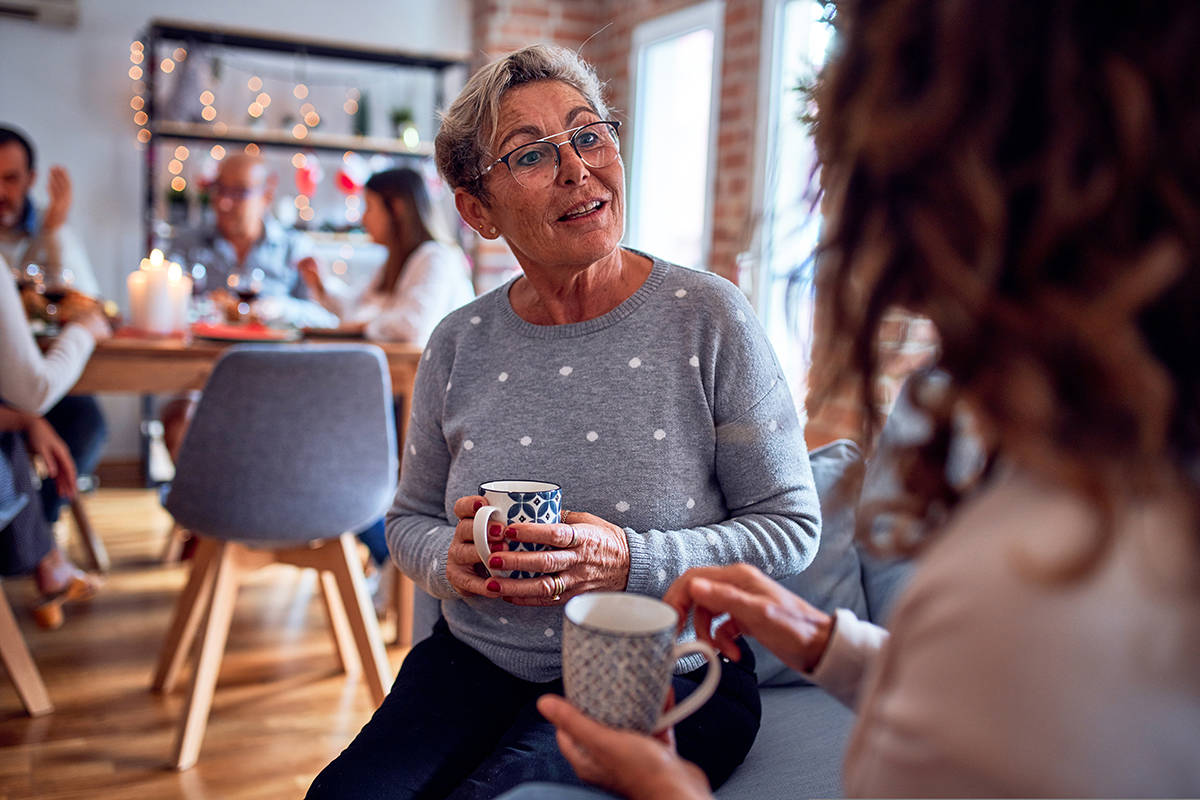 """""""Whether you use hearing aids or not, there are definitely strategies to improve your ability to hear in crowded rooms,"""" says Kim Galick, owner of Ears Hearing Clinic in Langley."""
