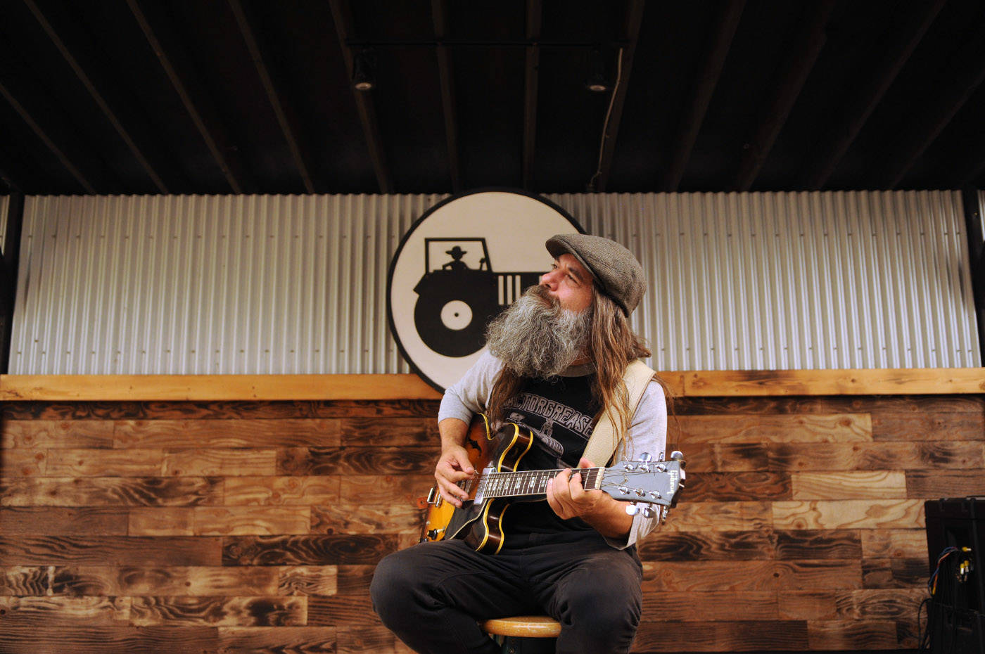 """Tractorgrease owner Jeff Bonner is closing his live music venue in September due to debt incurred during the pandemic, despite it being a """"highly successful"""" business, he said. (Jenna Hauck/ Chilliwack Progress)"""
