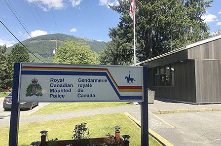The Lake Cowichan RCMP detachment's phone number is being spoofed to make calls to the public. (Kevin Rothbauer/Citizen)