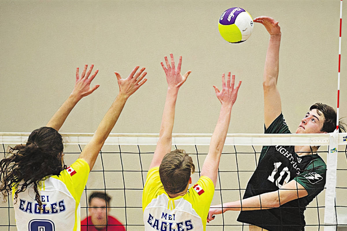 Langley's Brodie Hofer was one of six members of Trinity Western University's Spartans men's volleyball team named to the Canadian team that will compete at the 2021 NORCECA continental championship in Durango, Mexico. (file)