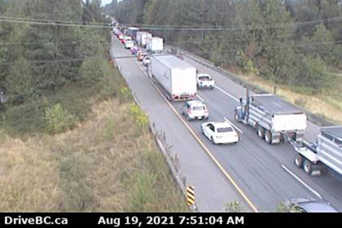 DriveBC highway photo taken at 7:51 a.m.