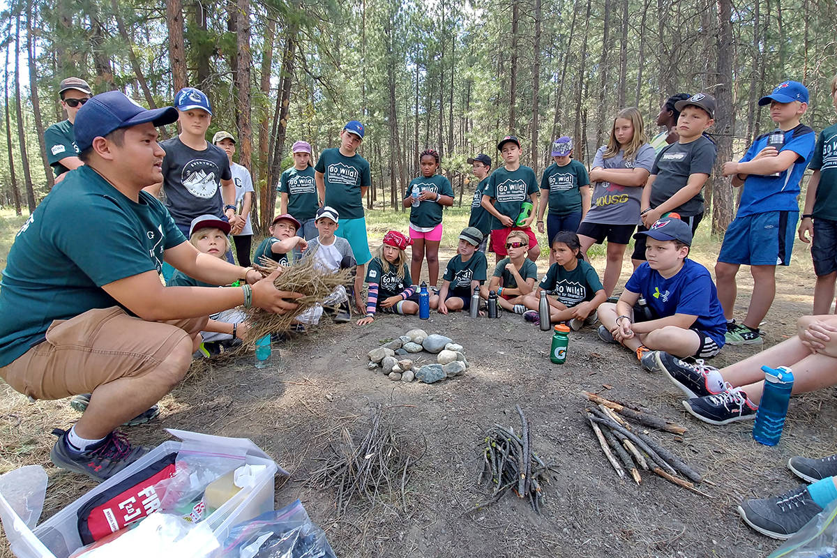 BCWF leads programs, workshops and initiatives that engage communities, teach conservation stewardship and outdoor skills, and restore habitats across the province. BCWF photo.