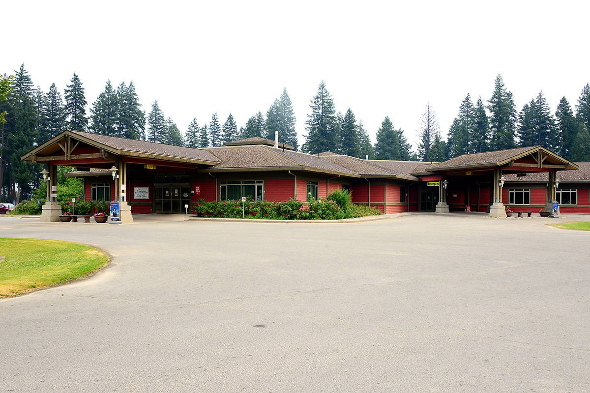 Dr. Helmcken Memorial Hospital. (File photo)