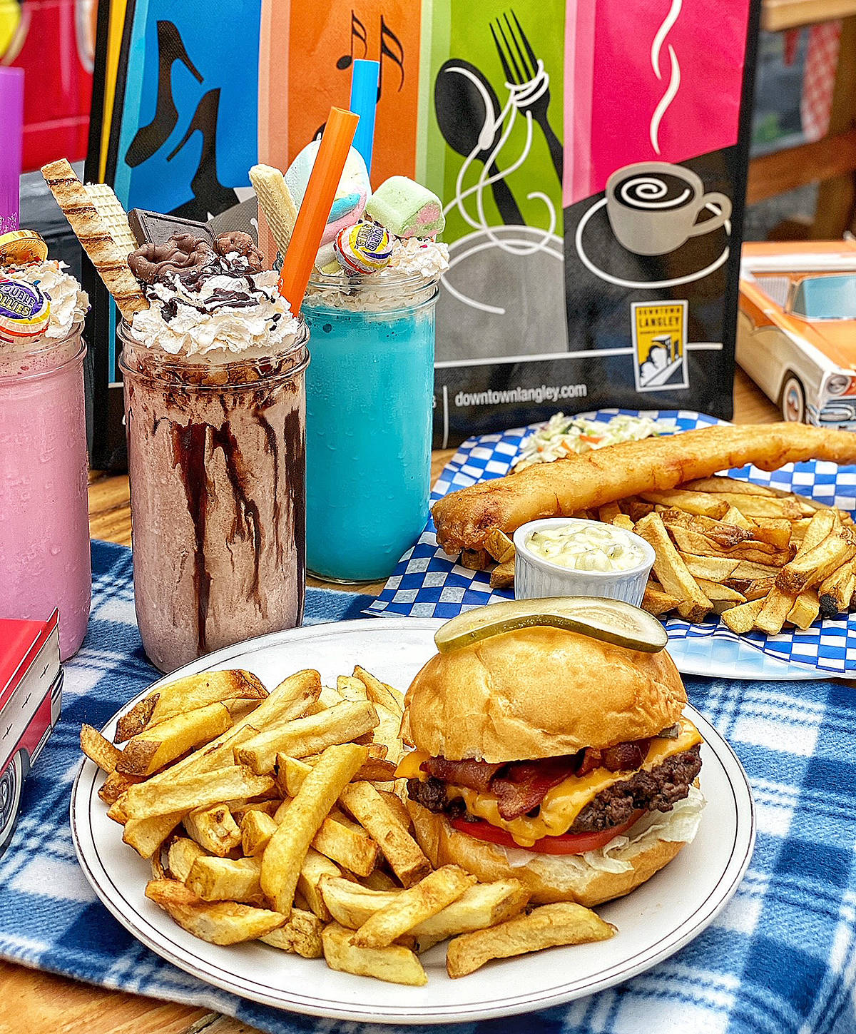 Brogan's Diner was one of the participating restaurants that took part in the Pick Up Picnic campaign in Langley City this summer. (Special to Langley Advance Times)