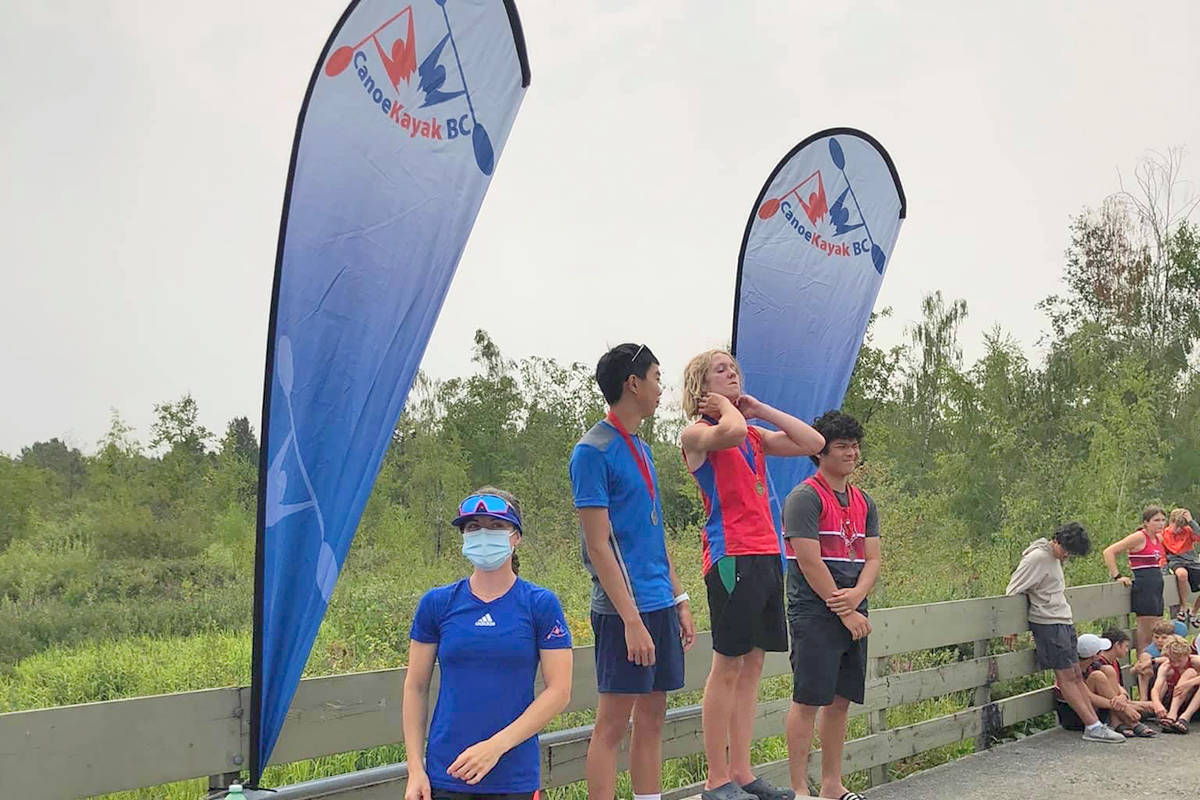 Athletes from around the province competed at the provincials in Burnaby recently and several locals qualified to go to the nationals at the end of August. (Fort Langley Canoe Kayak Club/Special to the Langley Advance Times)