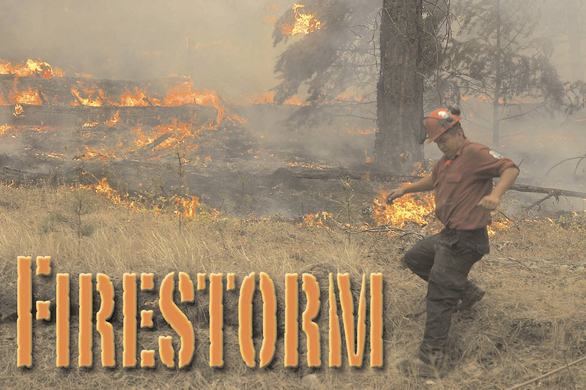 The Okanagan Mountain Park fire of 2003. (Capital News file)
