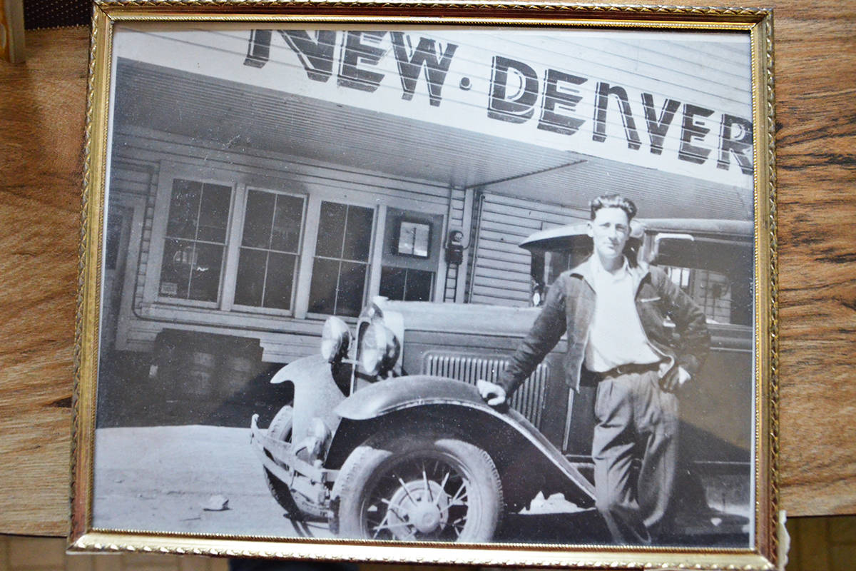 George Lockerby owned a Model A Ford as a young man. (Heather Colpitts/Langley Advance Times)
