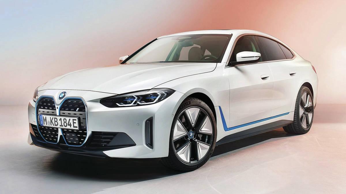 BMW i4 2022. Photo: BMW