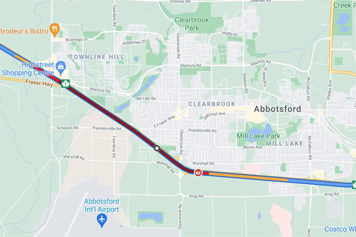 Google Maps screenshot taken at 2:30 p.m.