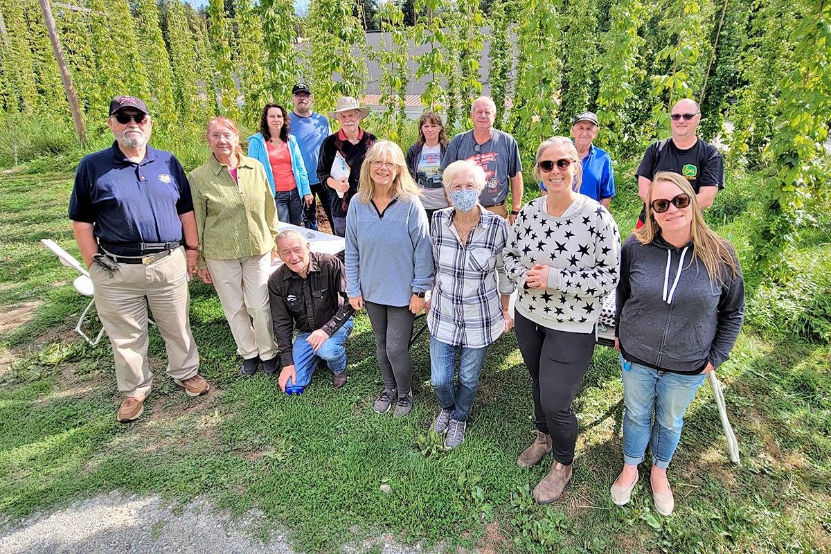 Organizers of the Aldergrove Fair ran their final site walk-through on Sunday, Aug. 22, 2021 ahead of Aldergrove Fair Days, happening Aug. 28 and 29. (Dan Ferguson/Langley Advance Times)