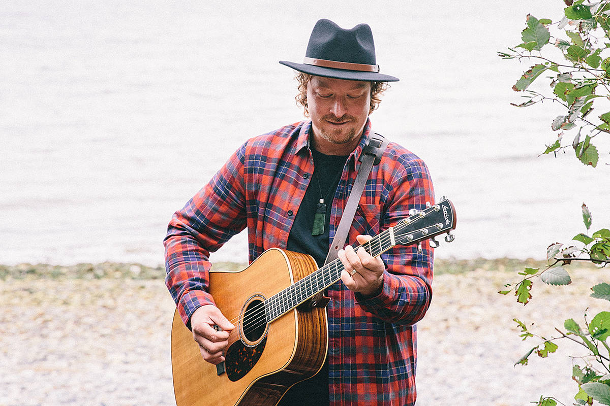 Singer and songwriter Daniel Wesley grew up in Langley, and he's returning to town this weekend to be part of the scaled-down Summerset Festival in Fort Langley. (Special to Langley Advance Times)