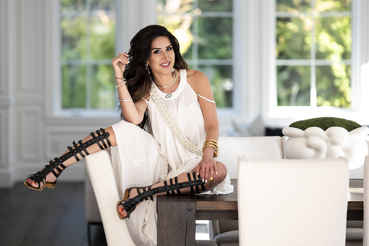 Kamelia Rahmatzadeh photograph by Lia Crowe