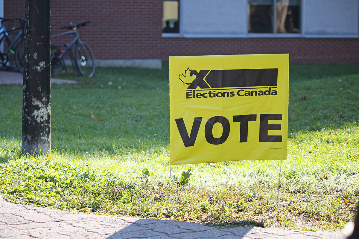Undergraduates of Canadian Research-Intensive Universities (UCRU) and the BC Federation of Students (BCFS) are urging Elections Canada to reconsider its decision not to establish polling stations at post-secondary campuses this year. (Elections Canada photo)