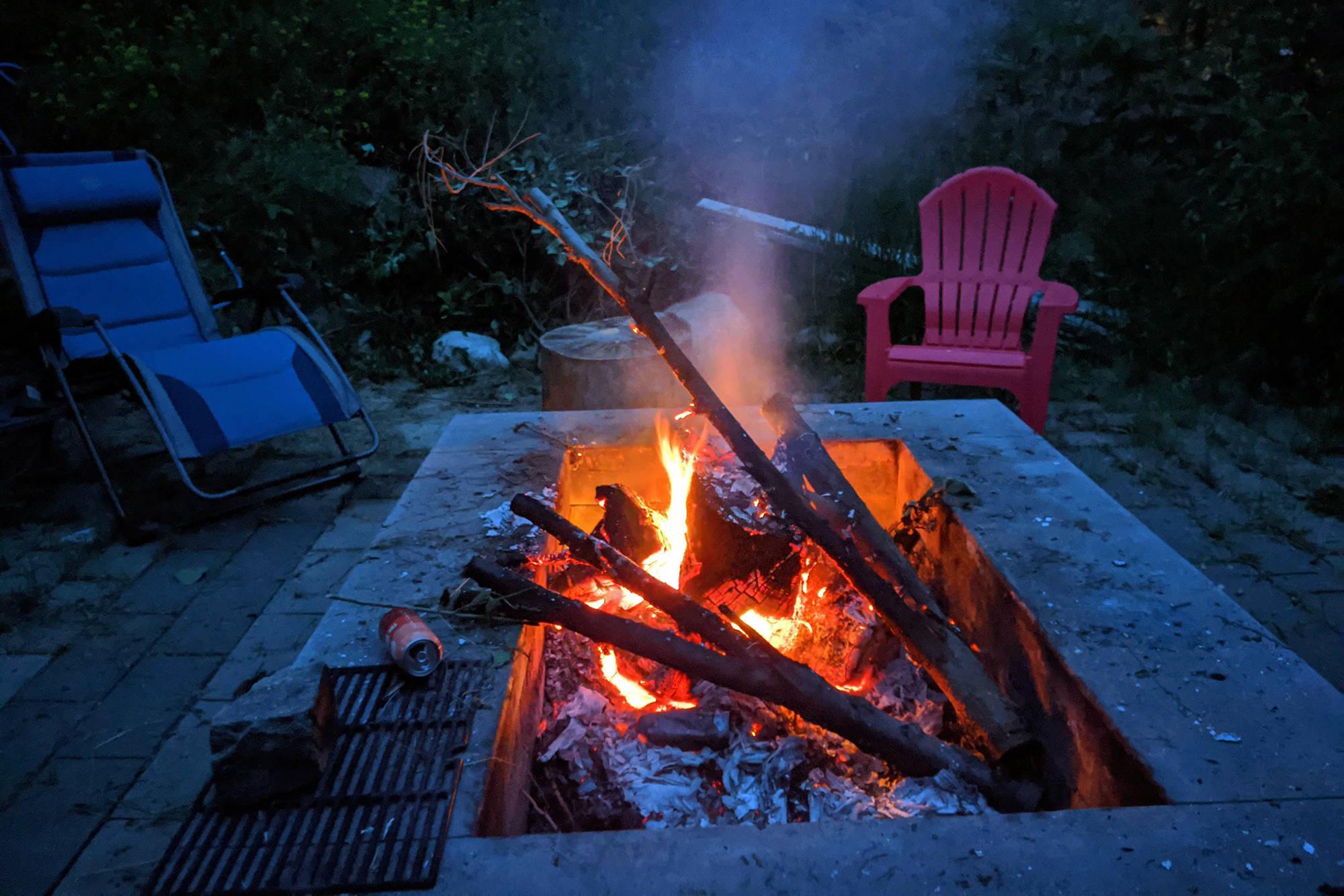 Campfire. (Phil McLachlan - Black Press Media - File)