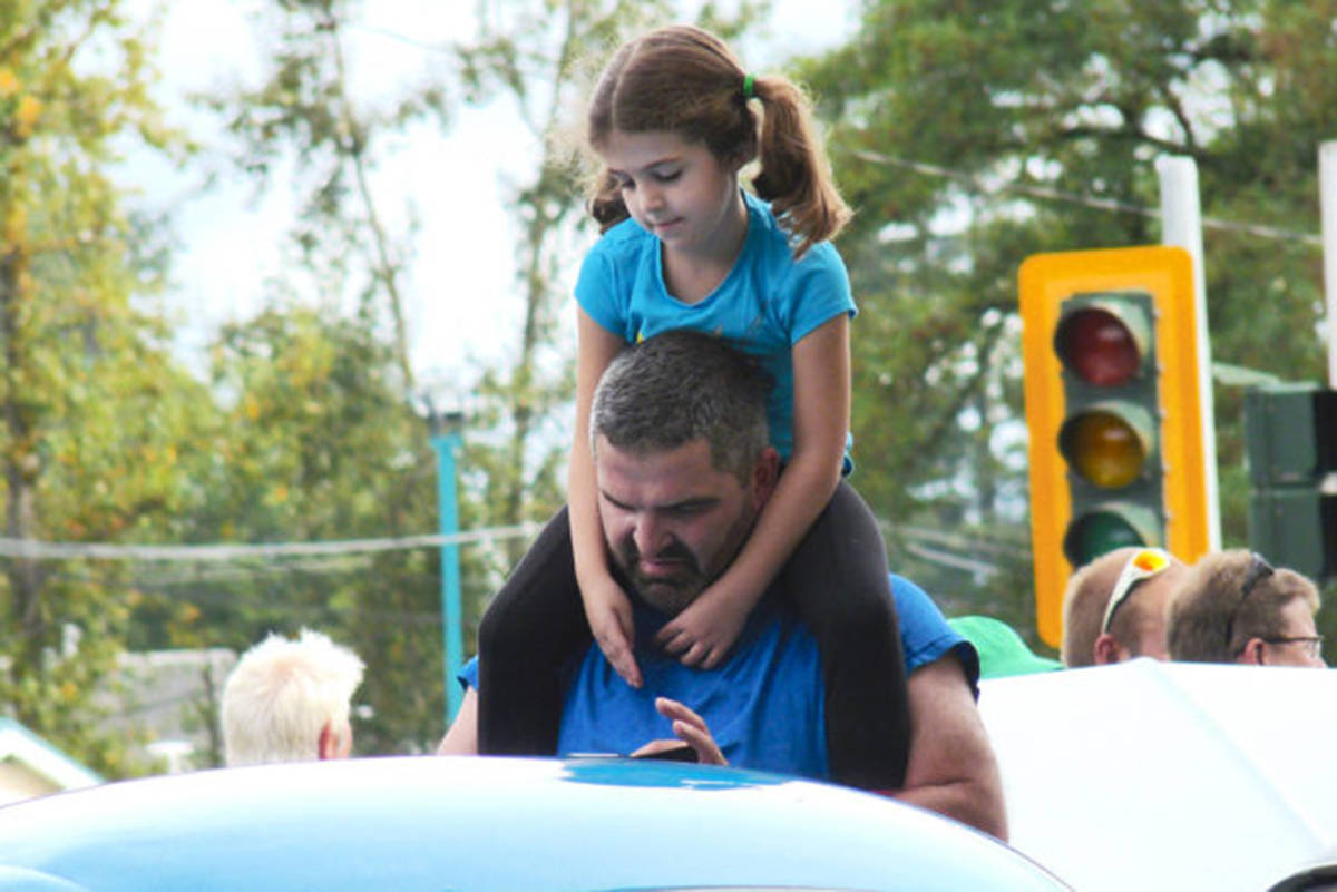 Kids will get their chance to work alongside Jimmy Shine to judge cars at the Langley Good Times Cruise-In this year. (Aldergrove Star files)