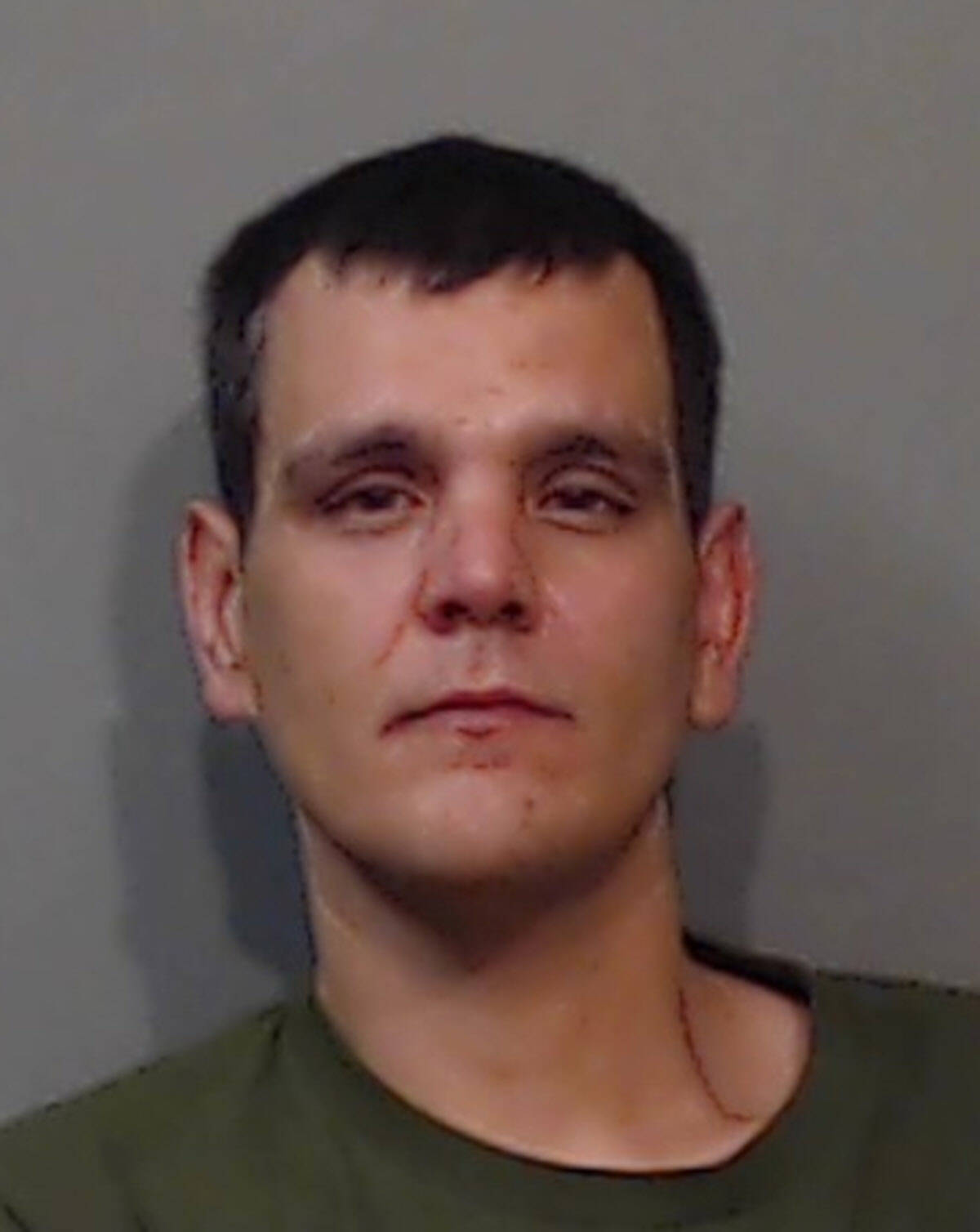 """Name: RIVARD, Mathew Age: 35 Height: 6'1"""" ft Weight: 201lbs Hair: Brown Eyes: Brown Wanted: Assault, Assault with a Weapon, Utter Threats and Mischief Under. Warrant in effect: August 31, 2021 Parole Jurisdiction: Chilliwack, BC"""