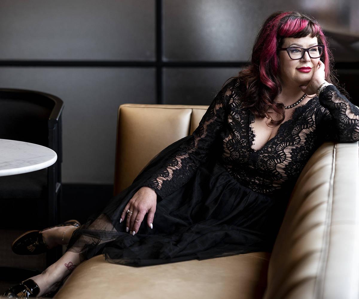 Manuela Mirecki photographed by Lia Crowe
