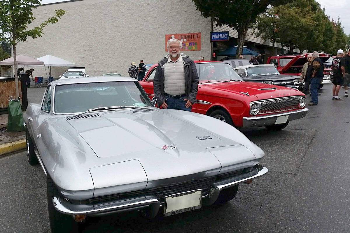 Langley resident Arnold Aylen, 72, has been not nearly even Cruise-In event. He said he missed one when his wife booked a cruise the same day at the charity-driven event. (Arnold Aylen/Special to Langley Advance Times)