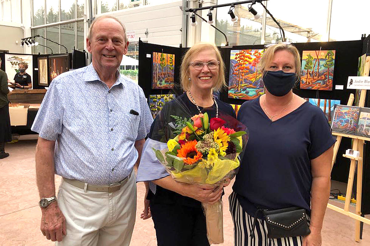 West Fine Art Show organizers and benefactors, alike, are grateful to Glass House owners Arthur and Ingrid De Jong for continuing to host the three-day event at their South Langley facilities. (West Fine Art Show/Special to Langley Advance Times)
