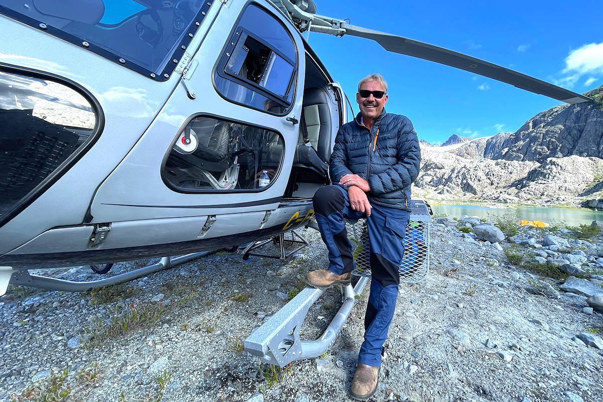 John Faulkner, chief pilot for Librico Helicopters. (Librico Helicopters photo)