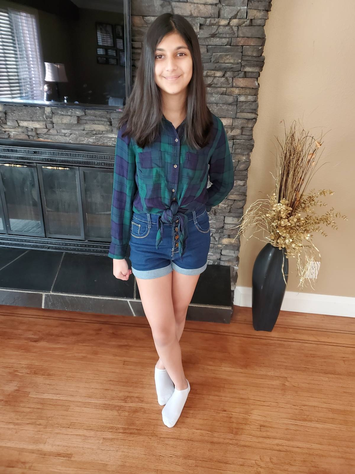 """Surrey resident Sia Sidhu, 13, has been raising money for BC Children's Hospital in a variety of ways. This year's """"Team Sia"""" fundraiser involves a raffle of more than 60 prizes donated by sponsors she has approached. (submitted photo)"""