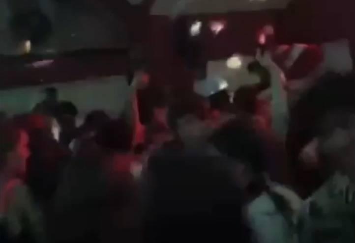 Screenshot of Snapchat video showing UBC frat party (Screenshot)