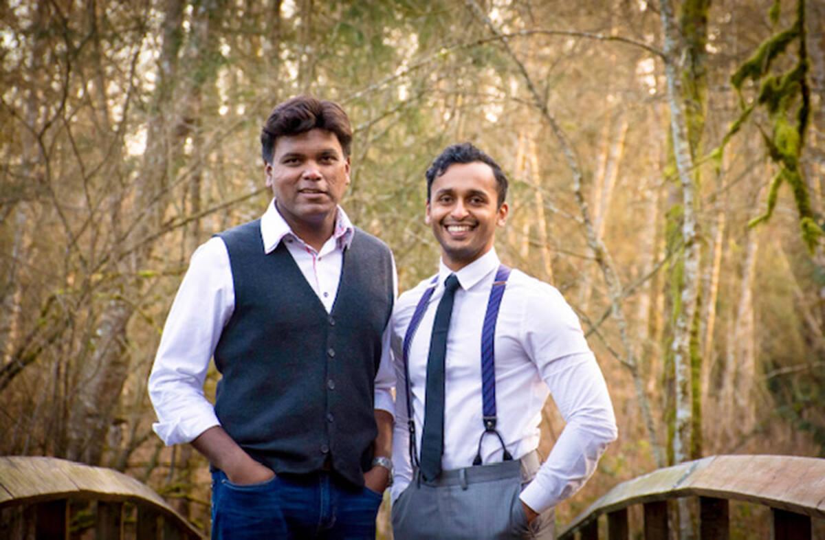 Dr. Sam Vijayan and Dr. Mathews Manampuram of Olive Tree Aesthetics