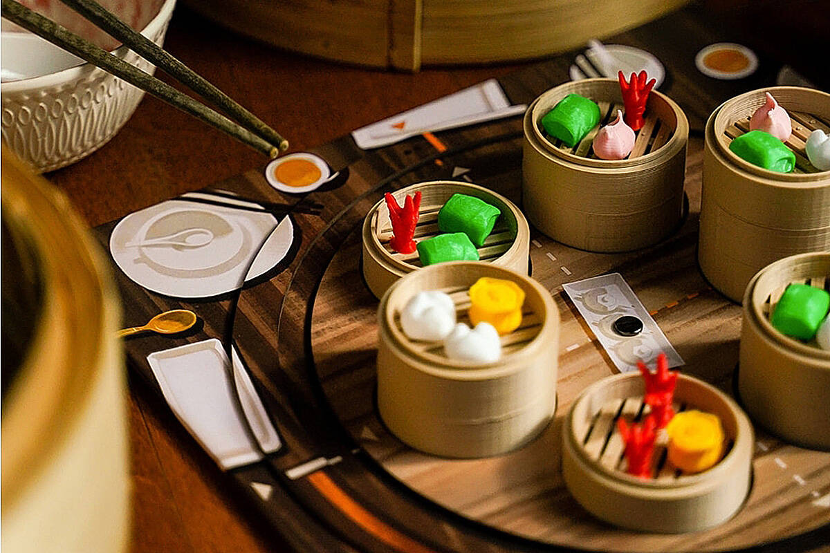 A look at the food-themed board game Steam Up: A Feast of Dim Sum. (submitted photo)