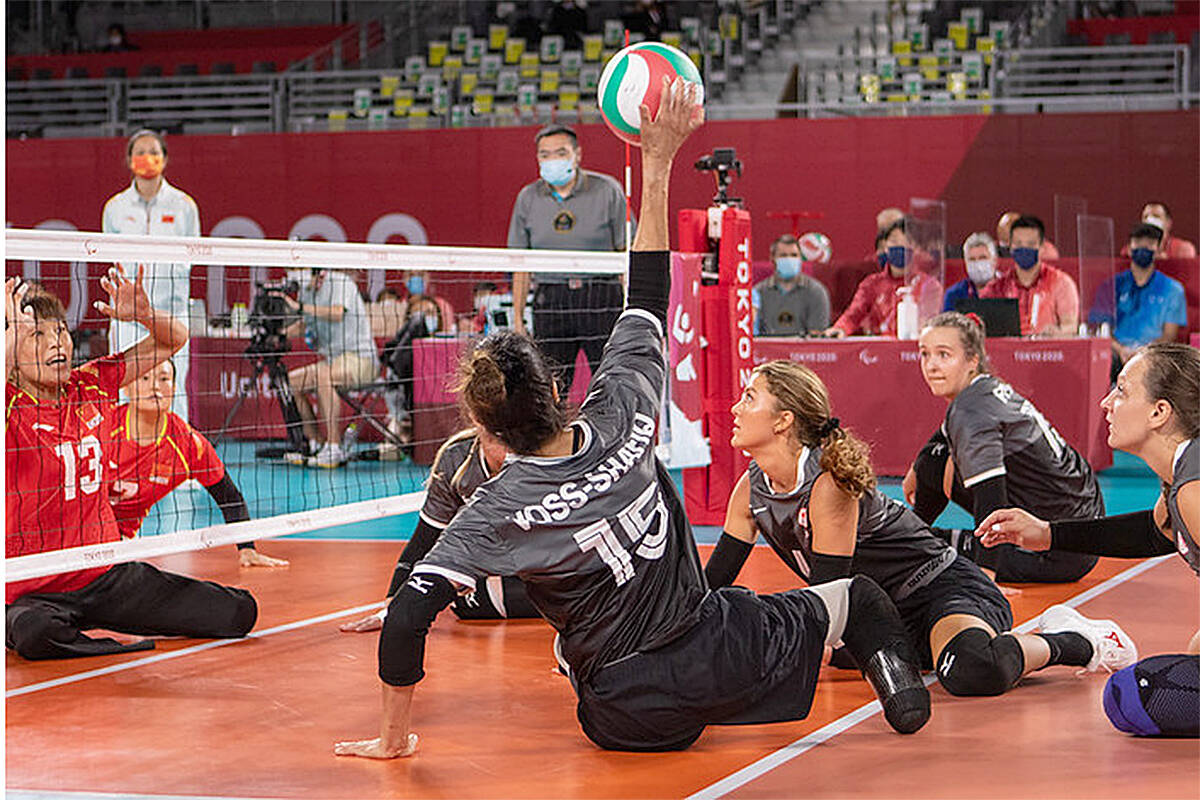 Team Canada in the women's sitting volleyball is ready to fight for the bronze medal on Saturday, against Brazil. (World ParaVolley/Special to Langley Advance Times)