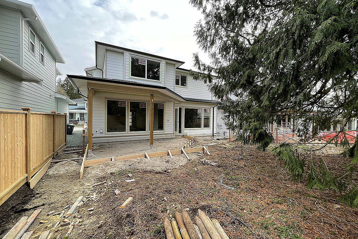 This year's PNE prize home is located on McNally Creek Drive in South Surrey, was built by Langley builders from Distrikt Homes. The home is complete now, but Pecchia shared some of the pictures during the construction process. (Special to Langley Advance Times)