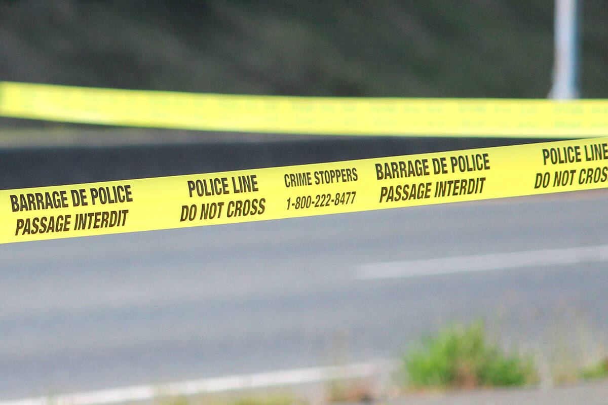 The public will be unable to access the Penticton Secondary School field as RCMP remain on scene and investigating after a young man was found deceased there on Sunday morning. (File)