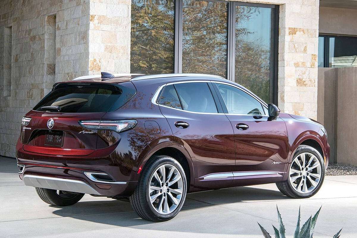 From any angle, the second-generation 2021 Envision is more attractive. The net effect is a more premium-look utility vehicle that's in keeping with Buick's upscale image.