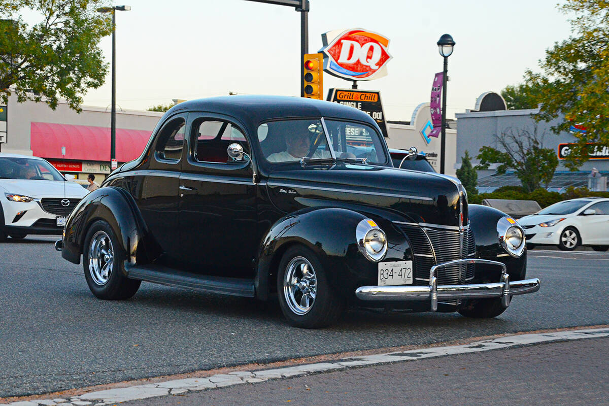Cruising downtown Langley City was still a pre-Cruise-In tradition even in 2019, after the show had moved to Aldergrove. Now an Aldergrove Friday drive is planned. (Langley Advance Times files)