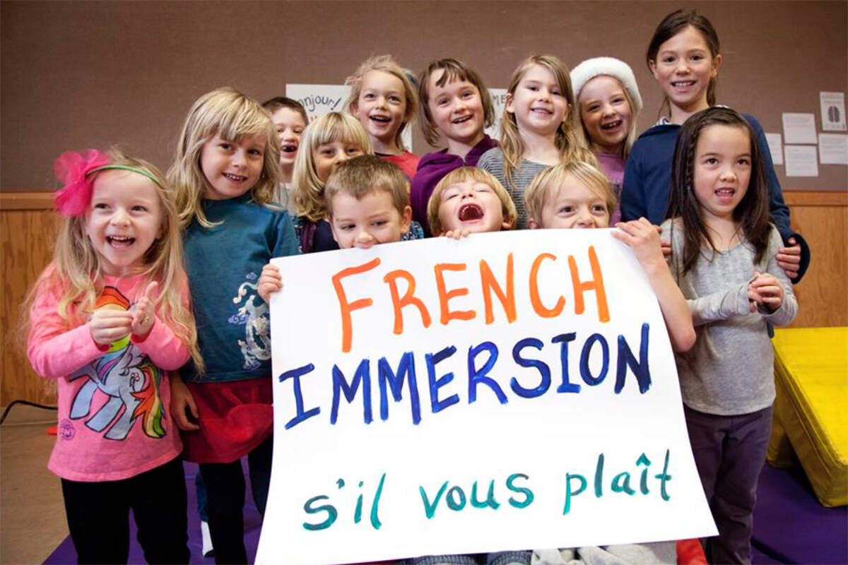 French immersion students make up roughly 9.4 per cent of the B.C. student body. (Canadian Parents for French BC & YK photo)