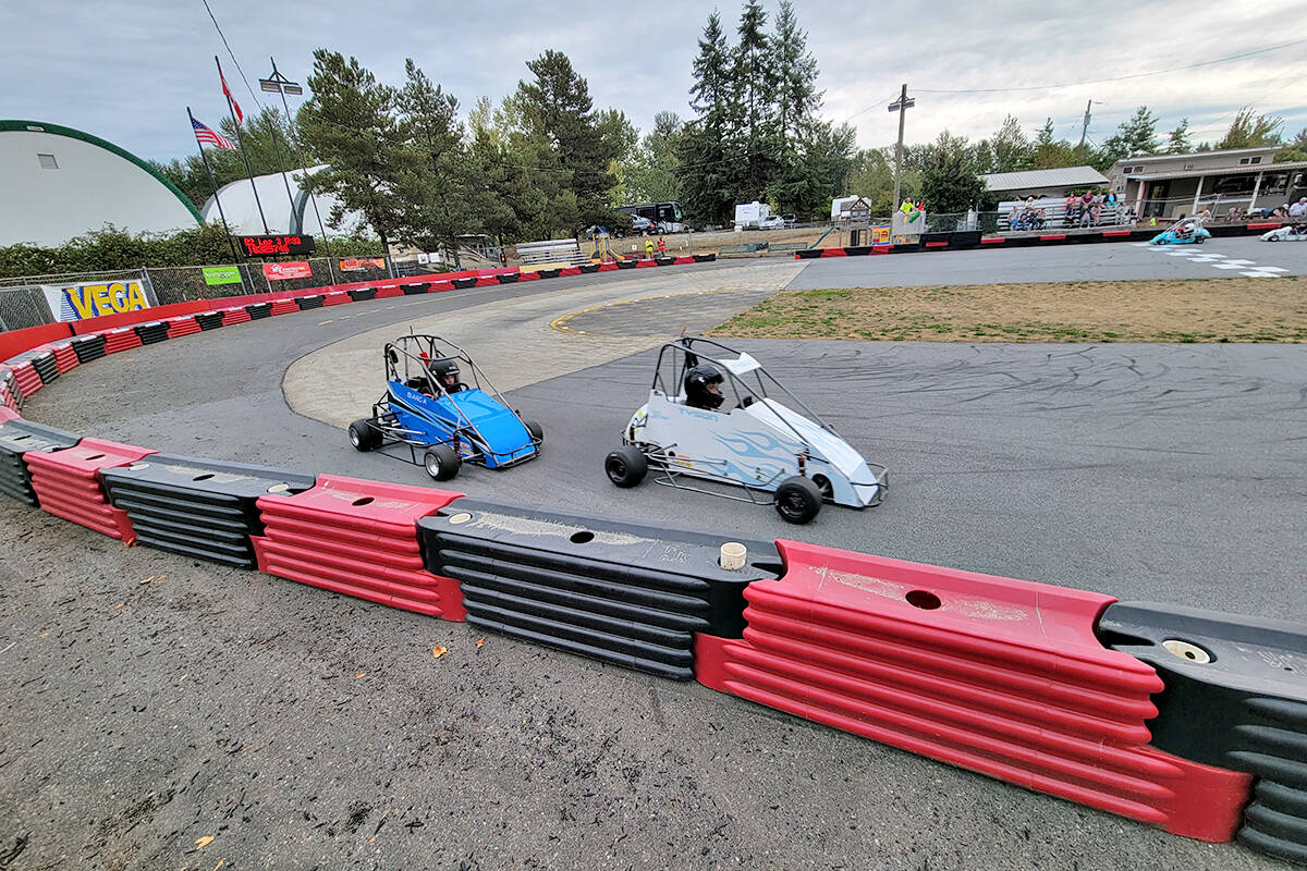 More than 70 young racers took part in the Langley Quarter Midget Association (LQMA) Northern Shootout on the weekend. (Dan Ferguson/Langley Advance Times)