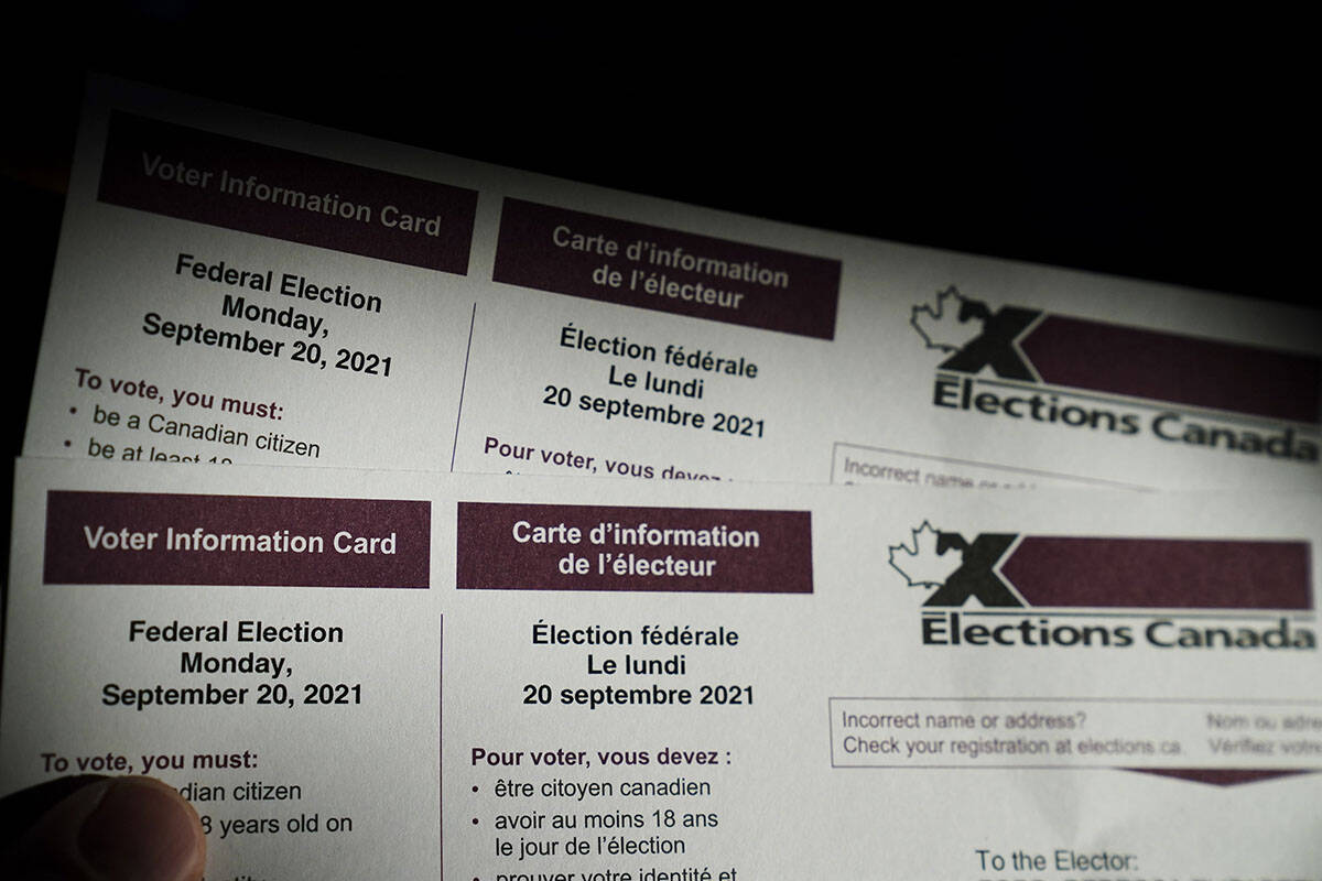 Advance polling for the federal election is open from Friday, Sept. 10 to Monday, Sept. 13. (Canadian Press/Sean Kilpatrick)