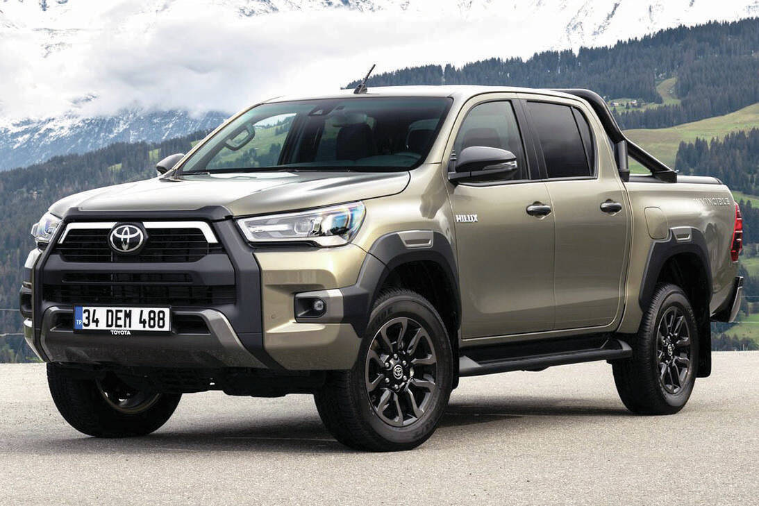 The redesigned Toyota Tundra will have styling influenced by the Hilux pickup, pictured, that's not sold in North America. PHOTO: TOYOTA