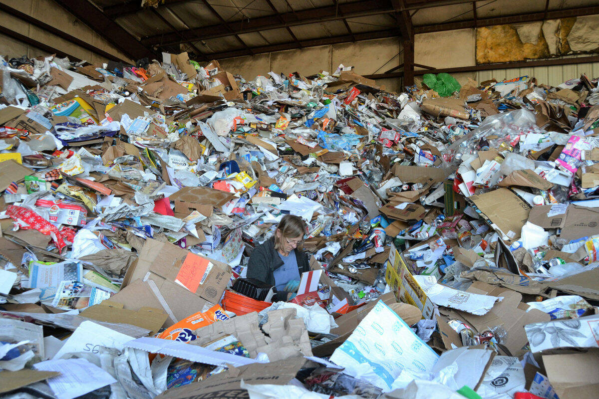 A local letter writer would like to see changes to the recycling and waste collection system. (Black Press Media files)