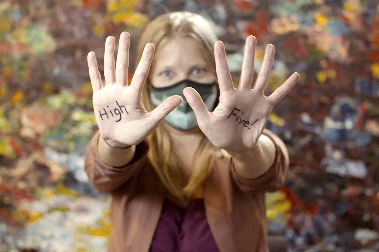 Join the #HealthCareHighFive challenge: donate a denomination of $5 and post a photo or video on social media with your most creative – and COVID-19 friendly – high five. Use the hashtag and tag five friends to do the same!