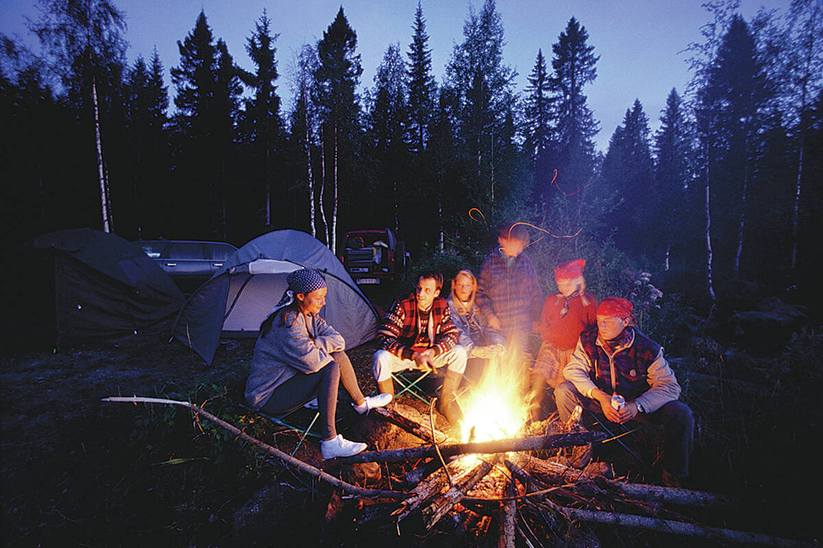 Okanagan residents can gather around the campfire this weekend as the BC Wildfire Service has lifted the prohibition effective Sept. 10, 2021. (File photo)