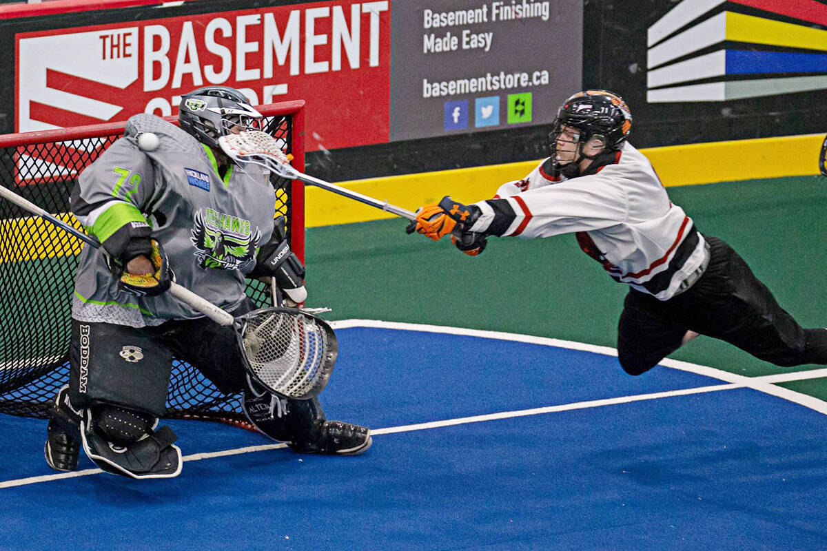 A feeder league to the NLL will begin playing games at the LEC this winter. (Photo ALL)