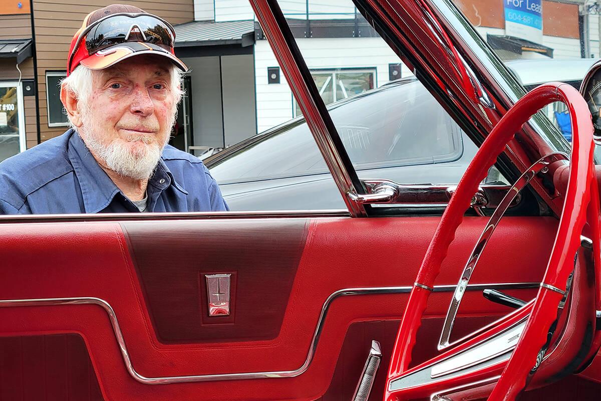Glen Valley resident Ron Kitteringham brought his 1964 Dodge Polara 500 to the Good Times Cruise-In in Aldergrove on Saturday, Sept. 11. (Dan Ferguson/Langley Advance Times)