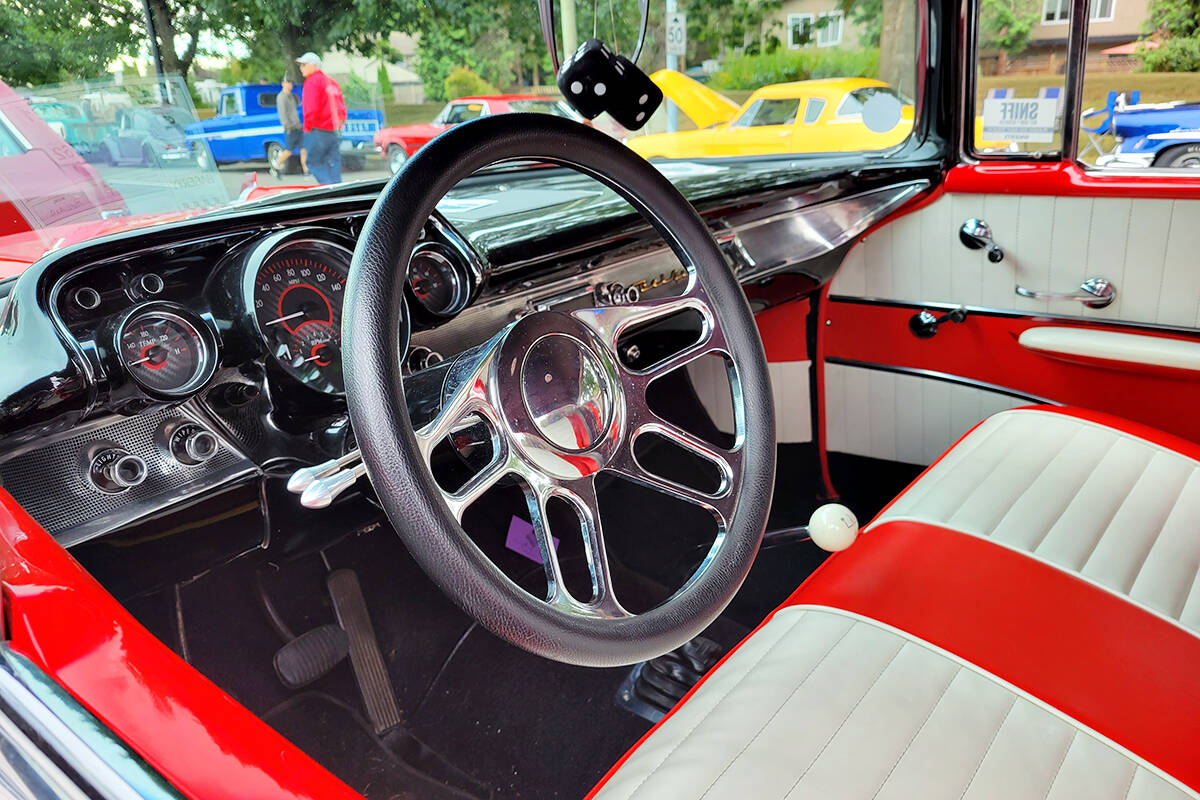 A record 1,200 cars were on display at the Good Times Cruise-In in Aldergrove on Saturday, Sept. 11. (Dan Ferguson/Langley Advance Times)